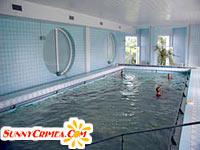 Лечебный бассейн с морской водой